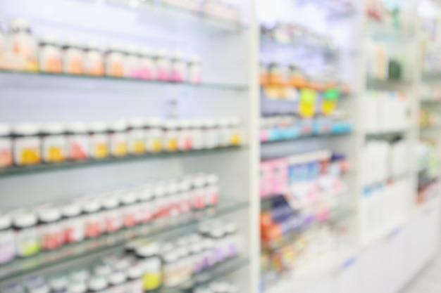 Apotheke drogerie unscharfen hintergrund