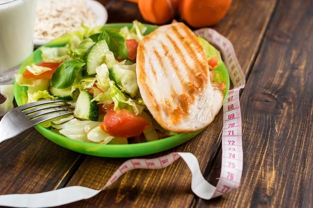 Appetitliches fitness-essen.