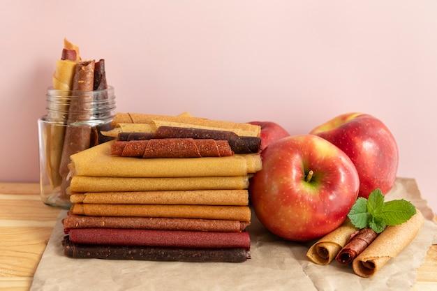 Apple astille. trockenfrüchte-chips.