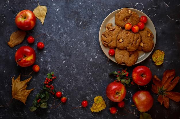 Apple cookies mit zimt