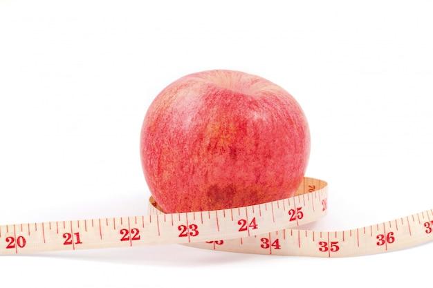 Apple und fitness tape
