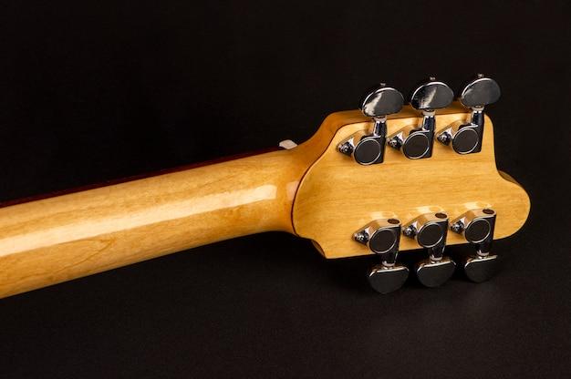 Aps und hals einer e-gitarre