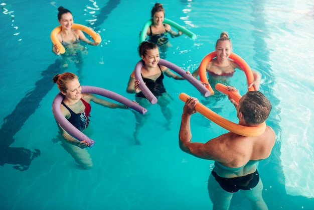 Aqua aerobic, gesunder wassersport