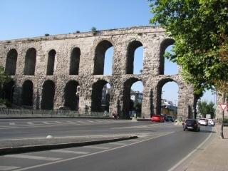 Aquädukt von valenten in istanbul