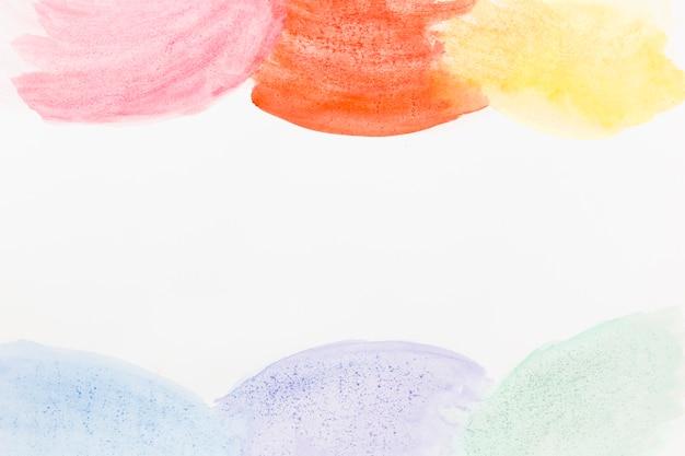 Aquarell abstrakt kreist hintergrund ein