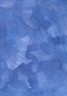 Aquarell alter tiefblauer hintergrund