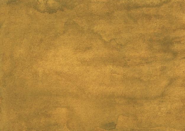 Aquarell alter tiefgoldgelber hintergrund