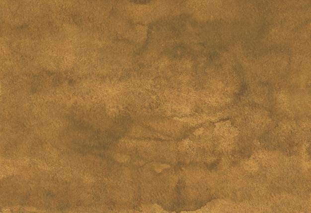 Aquarell altes goldfarbhintergrundgemälde