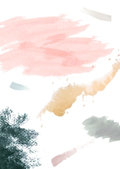 Aquarell auf papierhintergrund