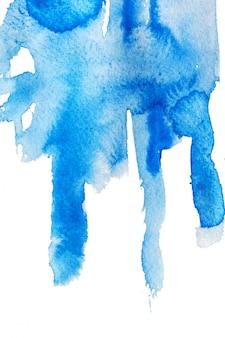Aquarell flecken und striche