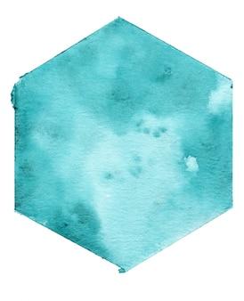 Aquarell geometrischen hintergrund