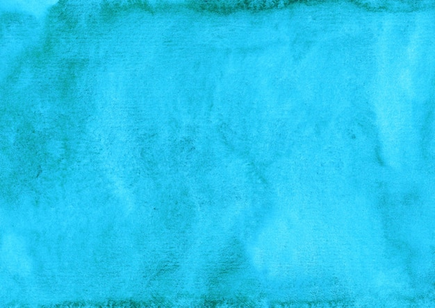 Aquarell helle türkisfarbene hintergrundmalerei