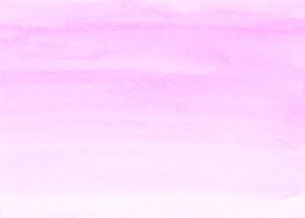 Aquarell hellrosa ombre hintergrundbeschaffenheit. aquarelle abstrakte pastellrosa farbverlaufshintergrund. horizontale trendige vorlage des aquarells. strukturiertes papier.