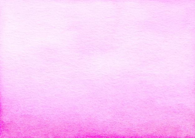 Aquarell hellrosa ombre hintergrundbeschaffenheit