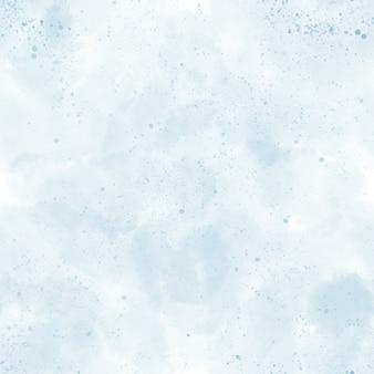 Aquarell hintergrund nahtlose textur abstraktes blaues muster