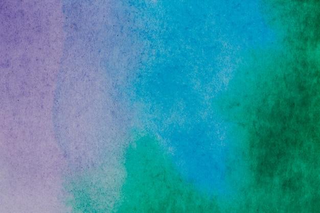 Aquarell nasser hintergrund. blau. abstrakter hintergrund des aquarells. aquarell waschen.