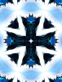 Aquarell neon cyan tiefblau schwarze tinte quadrat natürliche fotoqualität muster vertikales bild.