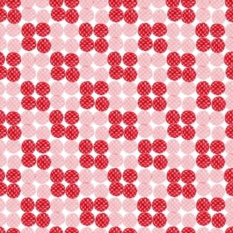 Aquarell rot nahtlose muster. modernes textildesign. geschenkpapier textur.