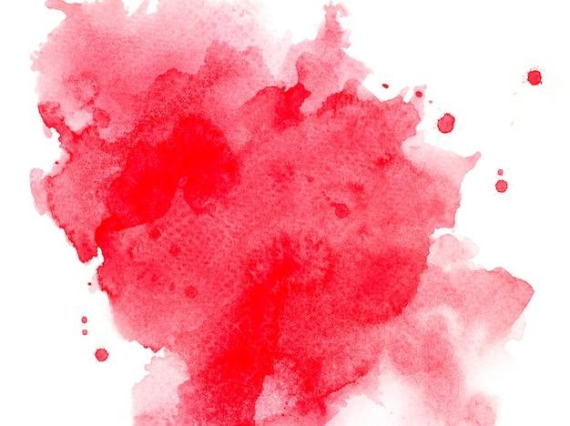 Aquarell roten hintergrund.