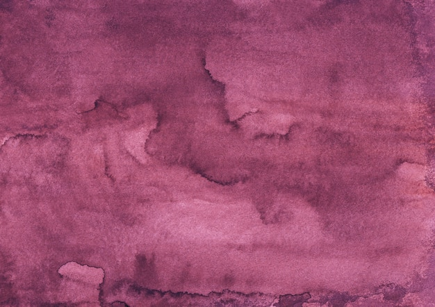 Aquarell tief purpurroter farbhintergrund