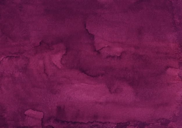 Aquarell tiefe purpurrote hintergrundbeschaffenheit