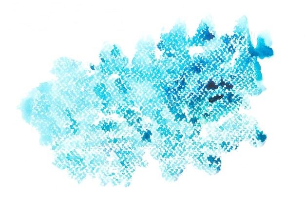 Aquarellanschlag background.color blaue schattenkunst gezeichnet auf papier