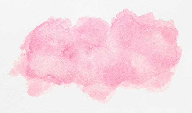 Aquarellkopierraum hellrosa farbe
