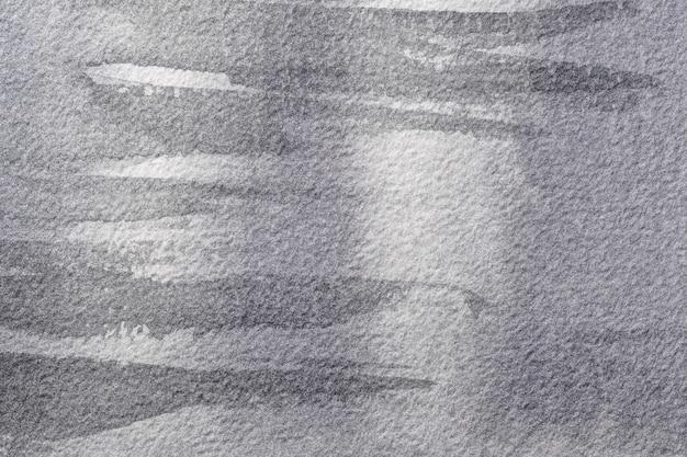 Aquarellmalerei auf leinwand mit silberflecken