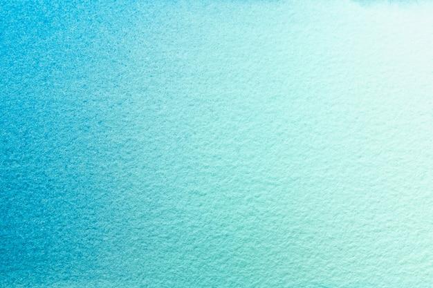 Aquarellmalerei auf leinwand mit weichem blauem farbverlauf
