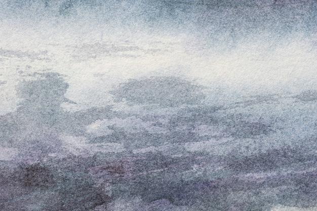 Aquarellmalerei auf leinwand mit weichem silberverlauf