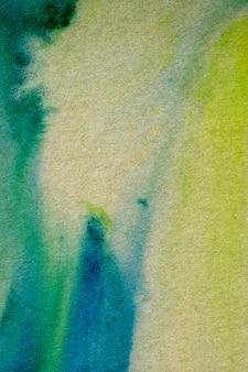 Aquarellmalerei auf recyclingpapier.