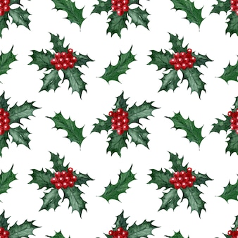 Aquarellmuster weihnachtsfeiertagsbonbons