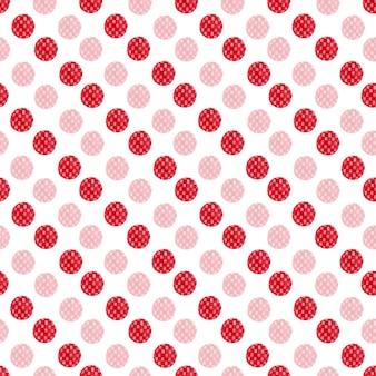 Aquarellrot punktiert nahtloses muster. modernes textildesign. geschenkpapier textur.