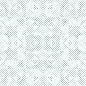 Arabesque handgezeichnetes muster. türkisfarbener symmetrischer kaleidoskophintergrund. textilfertiger druck, bademodenstoff, tapete, umhüllung. handgezeichnetes design der orientalischen arabeske.