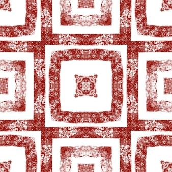 Arabesque handgezeichnetes muster. weinroter symmetrischer kaleidoskophintergrund. handgezeichnetes design der orientalischen arabeske. textilfertiger druck, badebekleidungsstoff, tapete, verpackung.