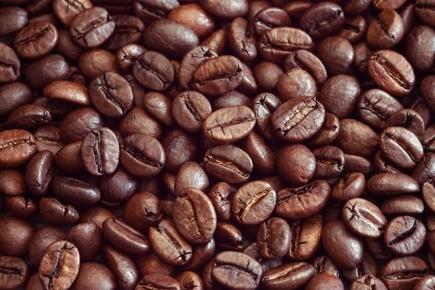Arabica kaffeebohnen hintergrund