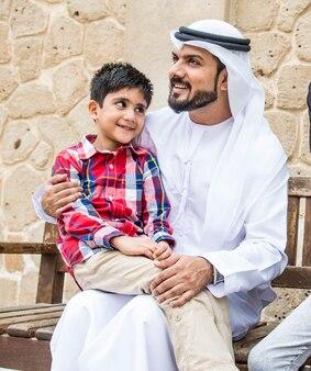 Arabische familie