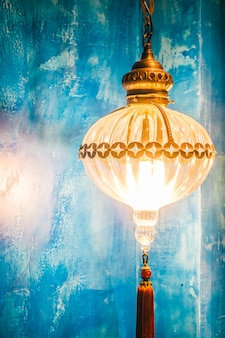 Arabisches licht beleuchtung lampe metall