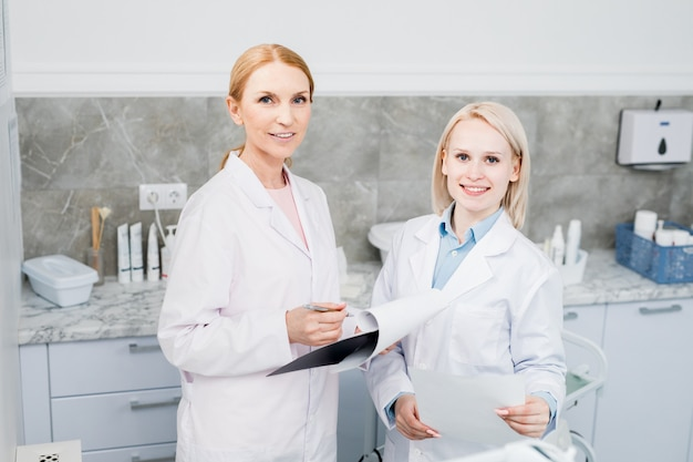 Arbeit der kliniker
