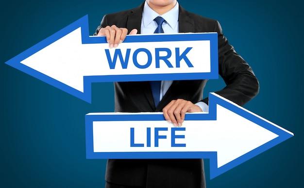 Arbeits- und lebenskonzept