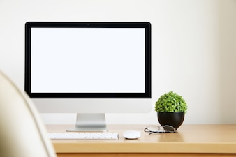 Arbeitsbereich Hintergrund im Büro