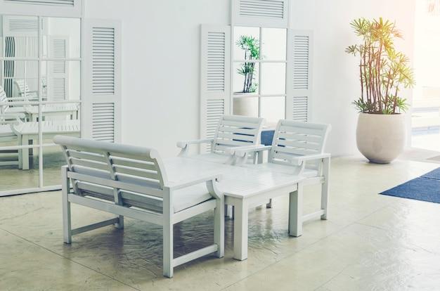 Arbeitsplatz in einem modernen büro