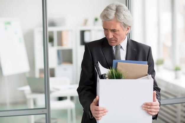 Arbeitsplatz verlassen