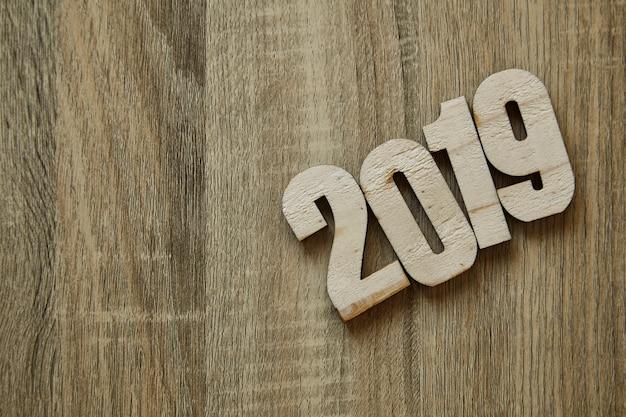 Arbeitsziel neues jahr 2019 hintergrund