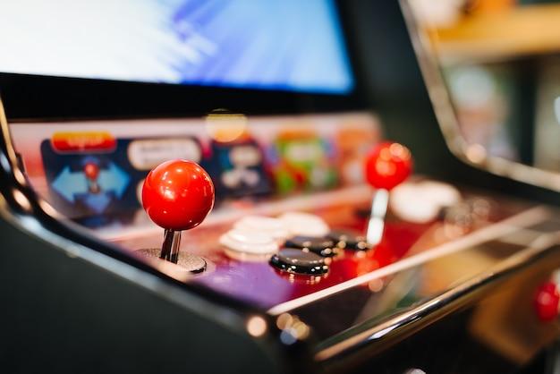 Arcade-spielmaschine.