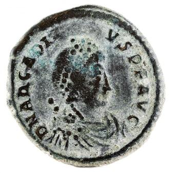Arcadius roman coin