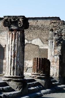 Archäologische ruinen von pompeji