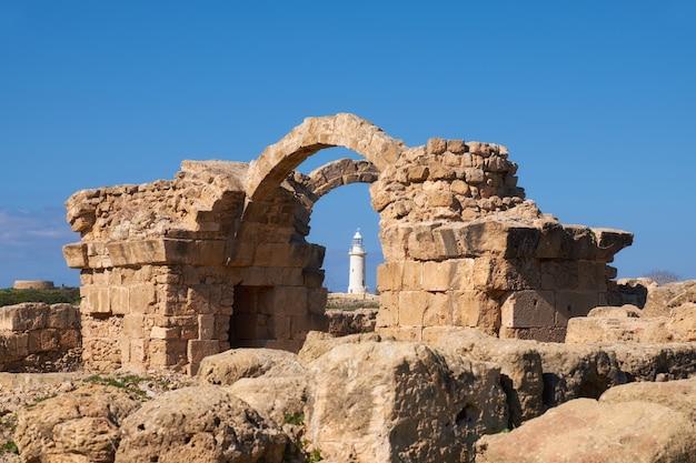 Archäologischer park paphos bei kato, pafos, zypern