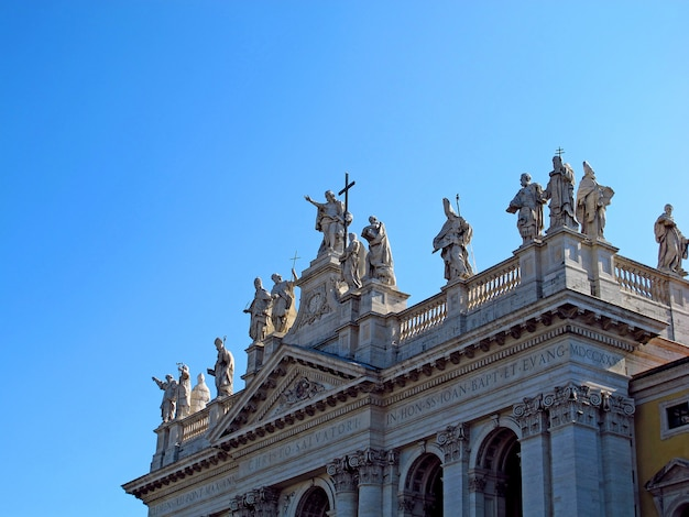 Archbasilica des heiligen john lateran, rom, italien