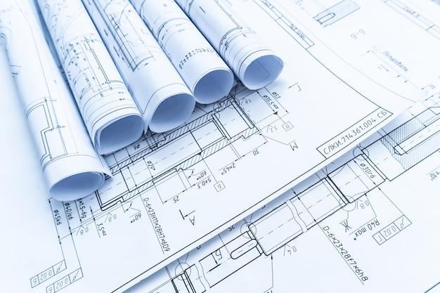 Architektonische projektdokumente